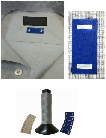 CS8200 RFID Metalized Thread Tag