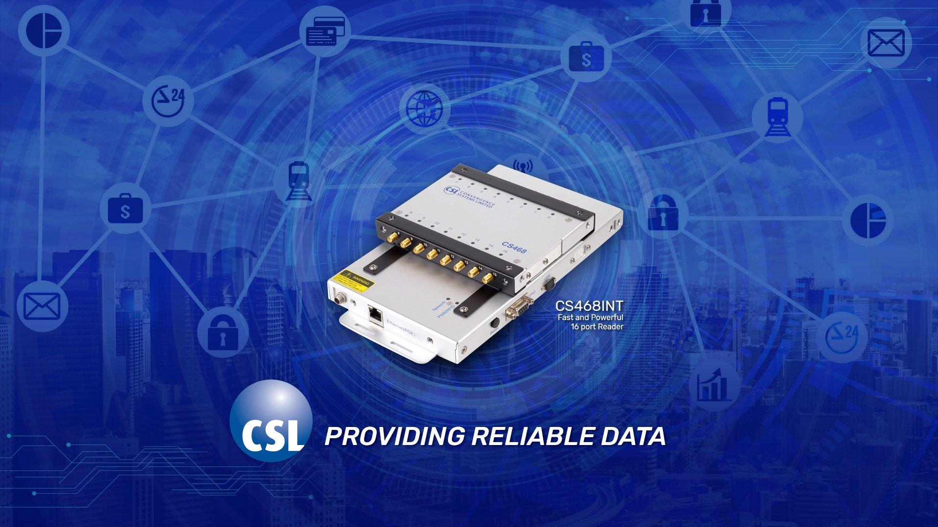 CS468 16 Port UHF Reader