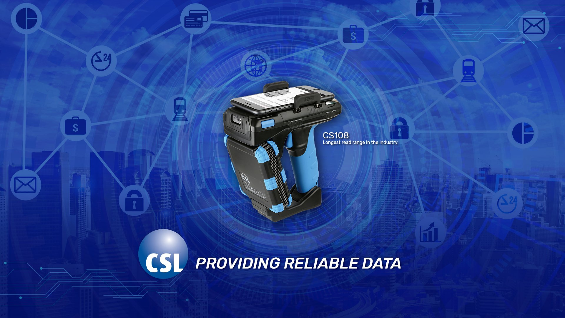 CSL Launches Affordable, Reliable UHF RFID Handheld Sled with Longest Read Range in Industry